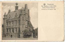 8Eb-690: HOOGSTRATEN   Het Stadhuis ...Verwoest Op 23 Oktoner 1944 - Hoogstraten