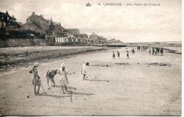 N°899 A -cpa Langrune -une Partie De Croquet- - Autres Communes