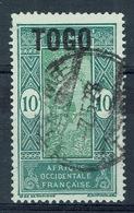 "Togo, Dahomey Overprint ""TOGO"", 10c, 1921, VFU - Used Stamps"