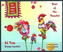 Vietnam (2017) - Booklet -  /  Rooster - Coq - Gallo  - Chinese New Year - Chinees Nieuwjaar