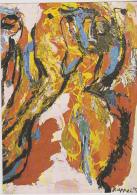 Postcard - Art - Karl Appel - Woman And Oastrich (1957) - VG (2) - Postcards