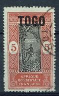"Togo, Dahomey Overprint ""TOGO"", 5c, 1921, VFU - Used Stamps"