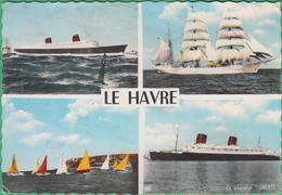 76 - Le Havre - Multi-vues - Le France Et Le Liberté - Editeur: Société Nouvelle N°615Z - Andere