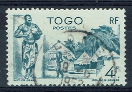 Togo, Atakpamé, 4f., 1947, VFU  Nice Postmark - Togo (1914-1960)