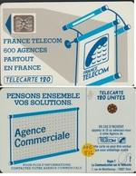 Te14C 512 TELECARTE AGENCES SC4An A/E OFFSET GLACEE P6 TEXTE 4 N° 2975 0 - France