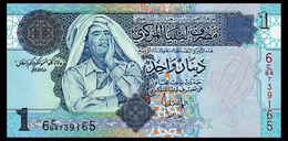 LIBYA 1 DINAR ND(2004) Pick 68b Unc - Libya