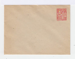 Monaco Entier Postal Type Albert 1er 1906 Enveloppe Format 123X96 Sans Date - Entiers Postaux