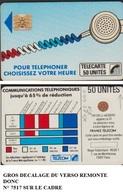 Ko25-440V1 TELECARTE CORDON BLEU 50 U SC4Ob S/E SERIGRAPHIE TEXTE 1 IMPACT N° 7517 - France