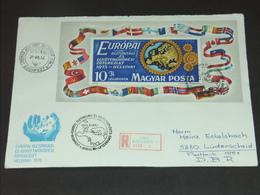 UNGARN HUNGARY 30.7.1975 - Block 113A: Konferenz über Sicherheit Und Zusammenarbeit In Europa (KSZE) - FDC