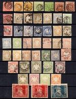 Bavière Belle Collection D'anciens 1849/1911. Bonnes Valeurs, Belles Oblitérations. A Saisir! - Bavaria