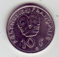 (Monnaies). Polynesie Francaise. 10 Fr 2007 - French Polynesia