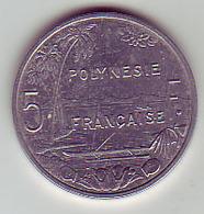 (Monnaies). Polynesie Francaise. 5 Fr 2004 - French Polynesia