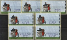 PORTUGAL, 1998, MUSEUM OF TELECOMUNICATIONS, AF#E 17A, MAQ. SMD, MNH - ATM/Frama Labels