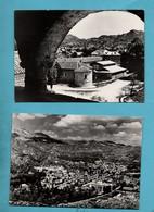 Montenegro Cetinie Lot De 2 Cartes Postales  Format 10,5cm X 15cm - Montenegro