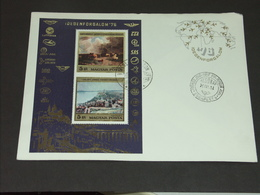 UNGARN HUNGARY 19.3.1976 Block 117A: Tourismus - FDC