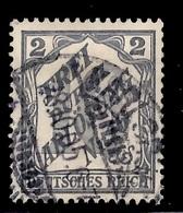 Bade/Reich Timbre De Service Michel N° 9 Oblitéré. B/TB. A Saisir! - Baden