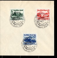 Allemagne/Reich YT N° 629A/629C Oblitérés Sur Enveloppe. B/TB. A Saisir! - Gebraucht