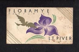 """1931 1932 Calendrier De Poche Parfumé / Parfum  """"Floramye """" De L.T.Piver (voir état ) - Calendriers"""