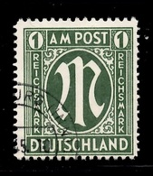 Allemagne/Bizone Michel N° 35 Oblitéré. Oblitération Authentique. B/TB. A Saisir! - American/British Zone