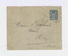 Algérie. Entier Postal 15c. Type Sage. Cachet De Constantine De 1895. Format 123X96. (517) - Entiers Postaux