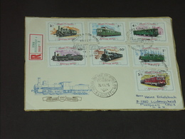 UNGARN HUNGARY 26.11.1976: 100 Jahre Eisenbahnlinie Raab-Ödenburg - Eisenbahnen