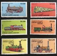 Mauritania 1980 Locomotives MNH Postage Fee To Be Added On All Items - Mauritania (1960-...)