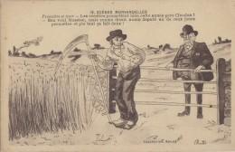 Agriculture - Moisson Blé - Patois Morvan - Député - Cultures