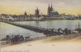 Allemagne - Köln - Total - Pont De Bâteaux - Koeln