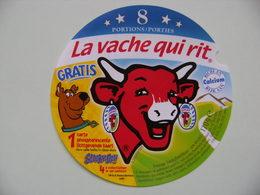 Etiquette Fromage Fondu - Vache Qui Rit - 8 Portions Bel Pub Scooby-Doo! Export  A Voir ! - Fromage