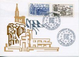 EUROPA CEPT FRANCE 1987 CARTE POSTALE N° YVERT 2471/72 - Europa-CEPT