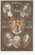 Gloire Aux Allies -- Pour Le Droit -- Pour La Patrie - Patriottisch