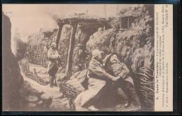Dans La Tranchee -- L'Aumonier Recoit Les Dernieres Volontes D'un Soldat Mourant - Guerre 1914-18
