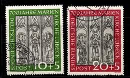 Allemagne/RFA YT N° 25/26 Oblitérés. B/TB. A Saisir! - Used Stamps