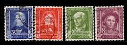 Allemagne/RFA YT N° 3/6 Oblitérés. B/TB. A Saisir! - Used Stamps
