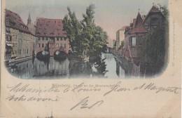 Allemagne - Nürnberg Nuenberg - Partie An Der Museumsbrücke - Postmarked 1901 - Nuernberg