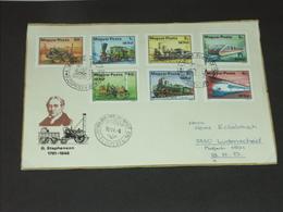 UNGARN HUNGARY 8.6.1979: Internationale Verkehrsausstellung (IVA), Hamburg - Entwicklung Der Eisenbahn - Eisenbahnen