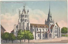 X2682 Lausanne - La Cathedrale / Viaggiata 1924 - VD Vaud