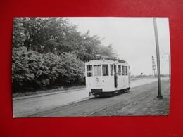PHOTO BELGIQUE FLANDRES TRAMWAY A WETTEREM    CLICHE J.BAZIN - Trains