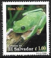 El Salvador 2000 - MNH - Morelet's Tree Frog (Agalychnis Moreletii) - Kikkers