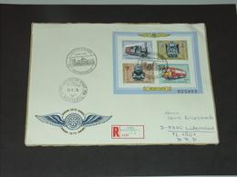 UNGARN HUNGARY 19.10.1979 (Block 139A): 100 Jahre Raab-Ödenburger-Ebenfurter Eisenbahn - Eisenbahnen