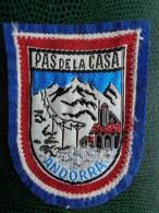 ECUSSON TISSU BRODE DE PAS DE LA CASA ANDORRA - Patches