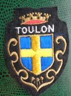 ECUSSON TISSU BRODE DE TOULON - Patches