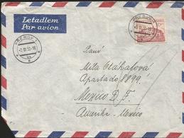 M) 1983 CZECHOSLOVAKIA, AIR MAIL, ZVOLEN, CIRCULATED COVER FROM CZECHOSLOVAKIA TO MEXICO. - Czechoslovakia