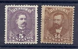 180029815  PARAGUAY  YVERT  Nº  32/4  */MH - Paraguay