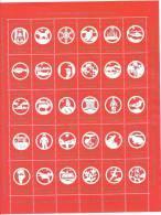 Feuille De Vignettes De Noël Du Groënland 1990 Neuve - Sonstige