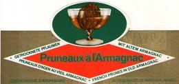 B 1911 - Etichetta, Cooperative D'Armagnac - Frutta E Verdura