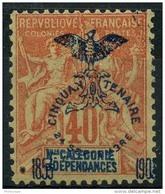 Nouvelle Caledonie (1903) N 77 * (charniere) - Unused Stamps