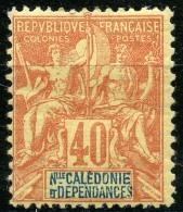 Nouvelle Caledonie (1892) N 50 * (charniere) - Unused Stamps