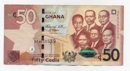 GHANA 50 CEDIS : FIFTY CEDIS  02/01/2012 - Ghana