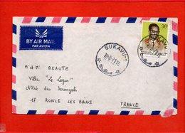 REPUBLIQUE DEMOCRATIQUE DU CONGO, Lettre De Bukavu (Kivu) Pour Ronce Les Bains (Charente Mme) - Usados